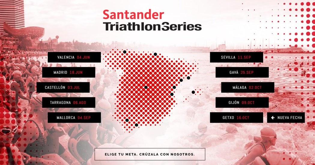 Clasificaciones santander triathlon series madrid 2016 for Localizador de sucursales santander