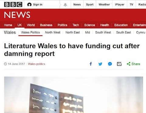 Literary Shake-up In Wales