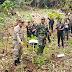 Hijaukan Gunung Selok, Anggota Koramil Adipala Laksanakan Penanaman Pohon