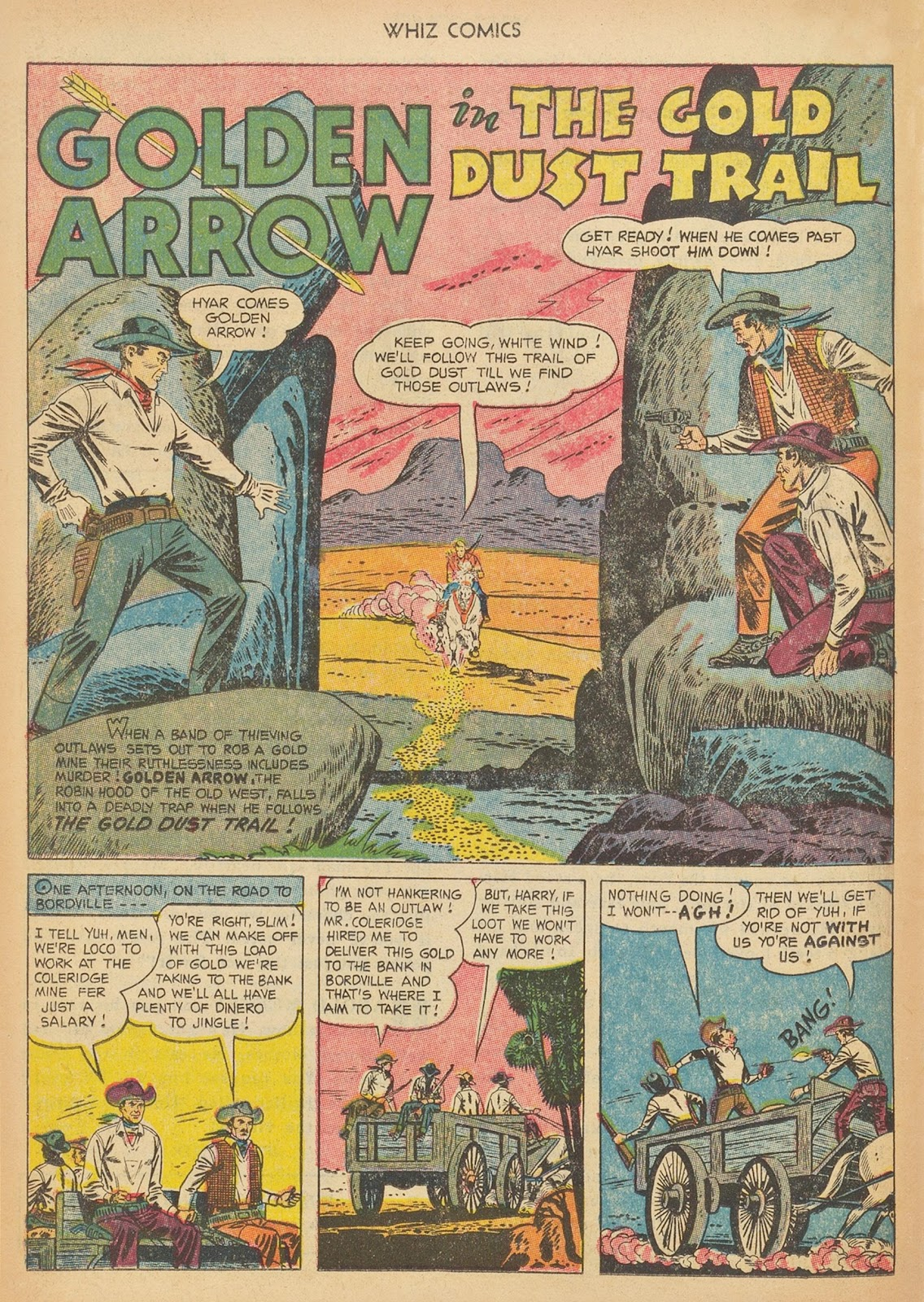 Read online WHIZ Comics comic -  Issue #153 - 18