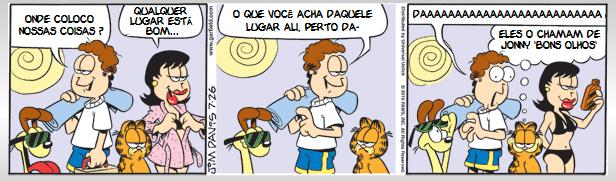 Garfield Humor Quadrinho