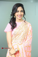 Actress Ritu Varma Pos in Beautiful Pink Anarkali Dress at at Keshava Movie Interview .COM 0097.JPG
