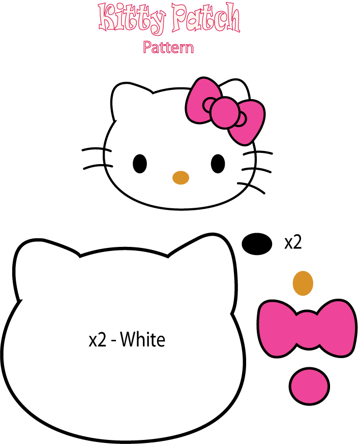 404 not found for Hello kitty cut out template