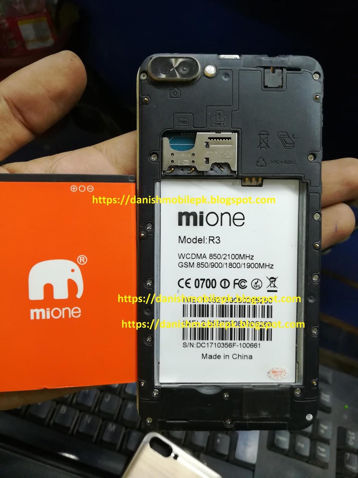 Mione R3 Firmware - DANISH MOBILE