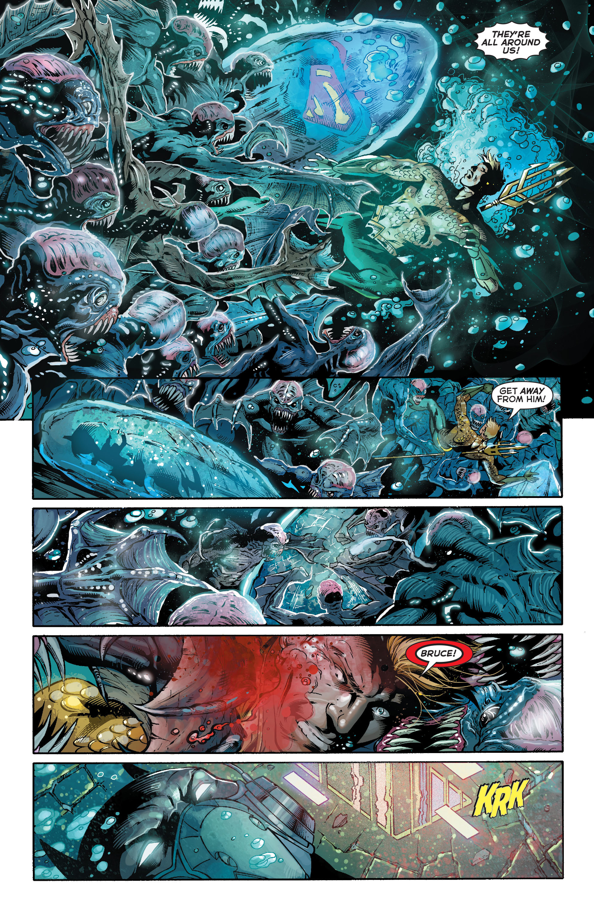 Read online Aquaman (2011) comic -  Issue #16 - 15