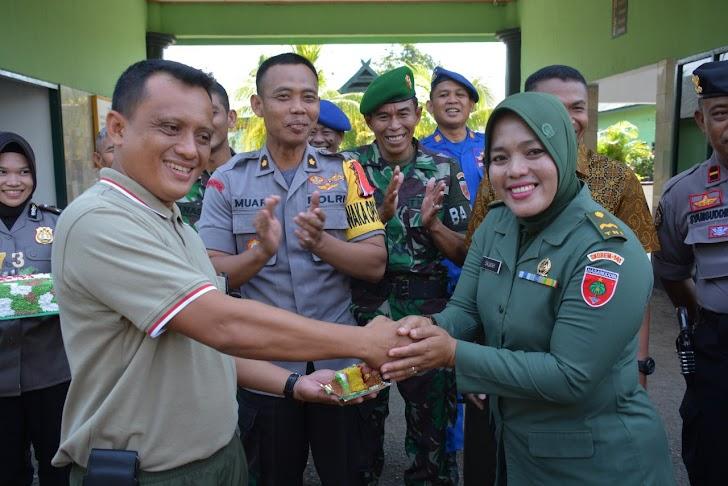 Korem 141/Tp Gelar Upacara Peringatan HUT TNI ke 73 Tahun 2018