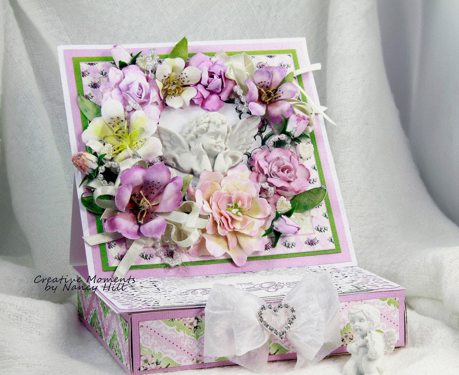 The rubber buggy valentine box with foamiran flowers i use a lot of white foam as its very easy to color it i use a ball tool to help with shaping my flowers on a foam mat mightylinksfo