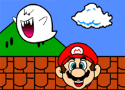 Super Mario vs Boo