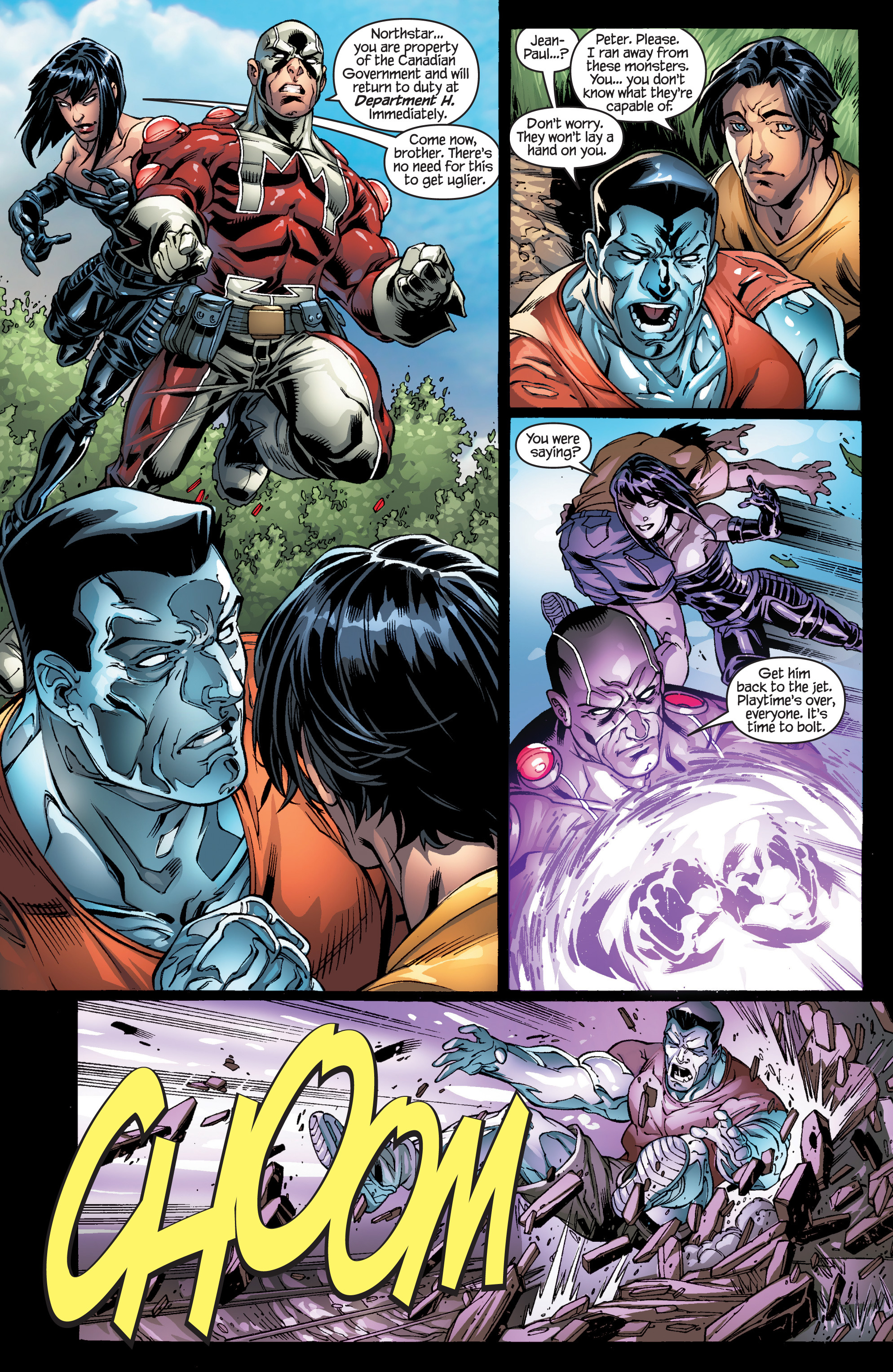 Read online Ultimate X-Men comic -  Issue #94 - 11