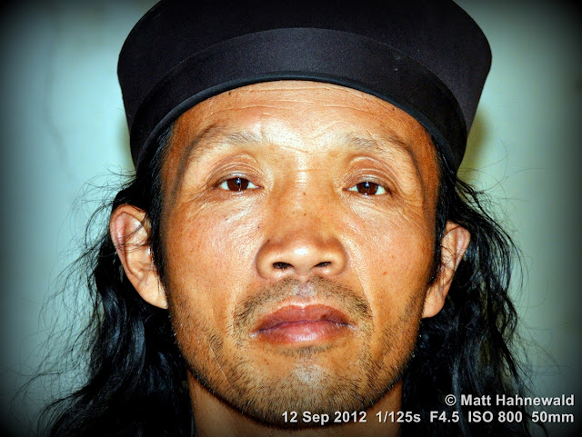 street portrait, headshot, China, Xian, Chinese man