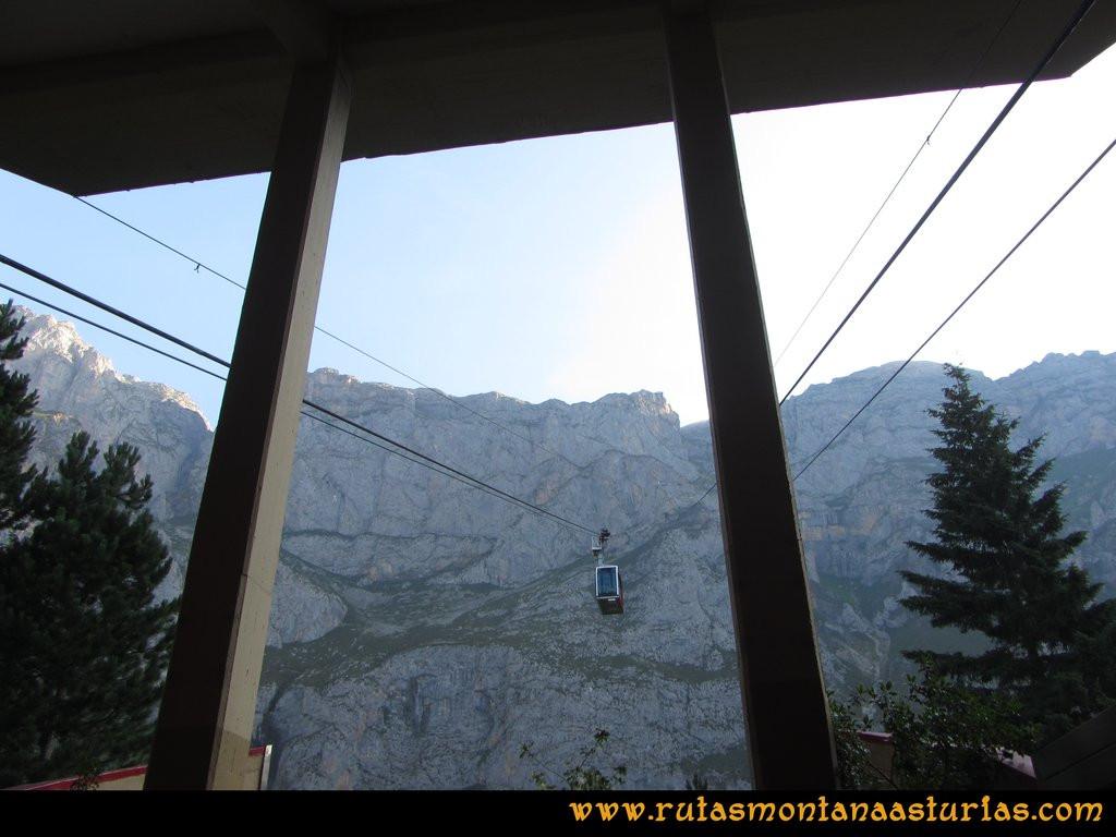 Ruta el Cable, Padiorna, Collado Jermoso, Palanca, Fuente De: Teleférico