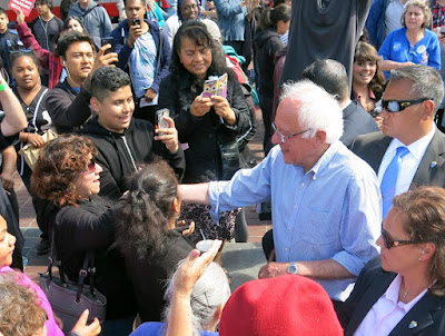 Feeling the Bern in Frisco | Photo: Gerard Koskovich