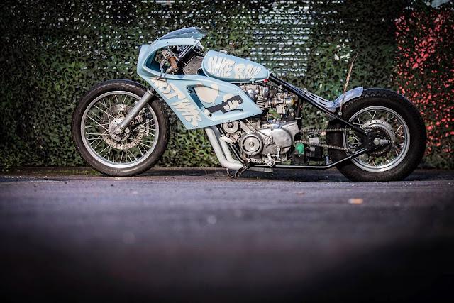 'Make Race Not War', Yamaha XS 650 Krautmotors - Photo by Da Guru Photography