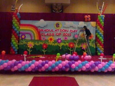 Cara dekor balon