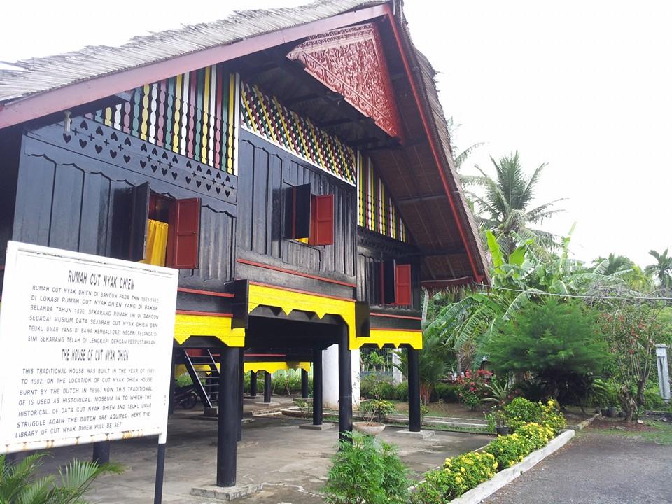 Rumah Cut Nyak Dhien Aceh Sarah Jalan