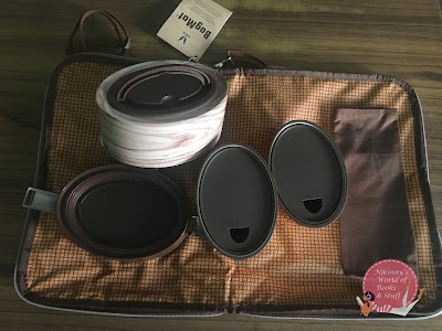 Vaya Tyffyn Stainless Steel Lunch Box with Bag Set Review