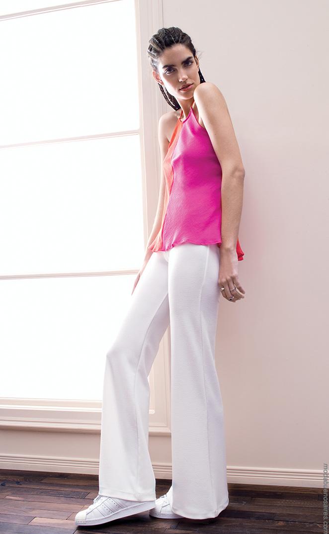 Vestidos, faldas, pantalones y blusas de moda mujer verano 2017. Moda ropa de mujer 2017.