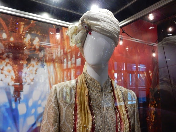 Second Best Exotic Marigold Hotel wedding turban