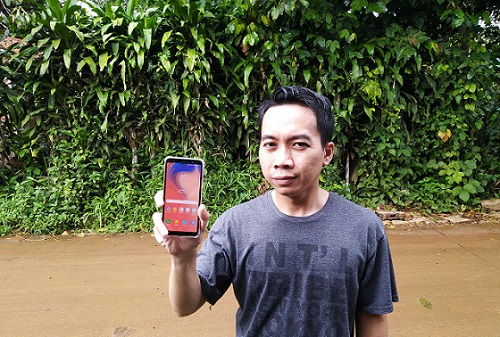 Review Samsung Galaxy A7. Smartphone Triple-Camera Pertama Dari Samsung - Blog Mas Hendra