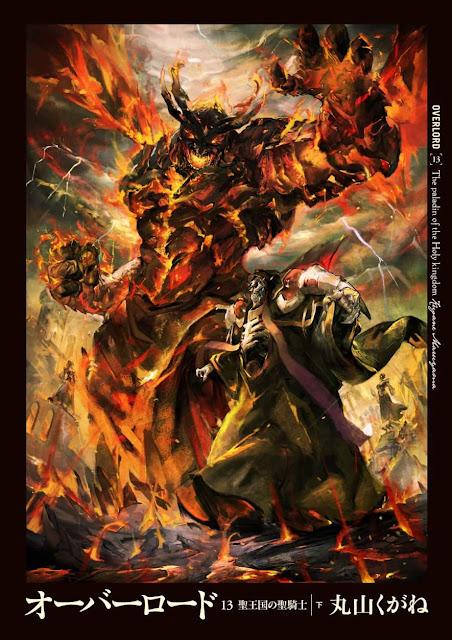 Ilustraciones de Overlord Volumen 13