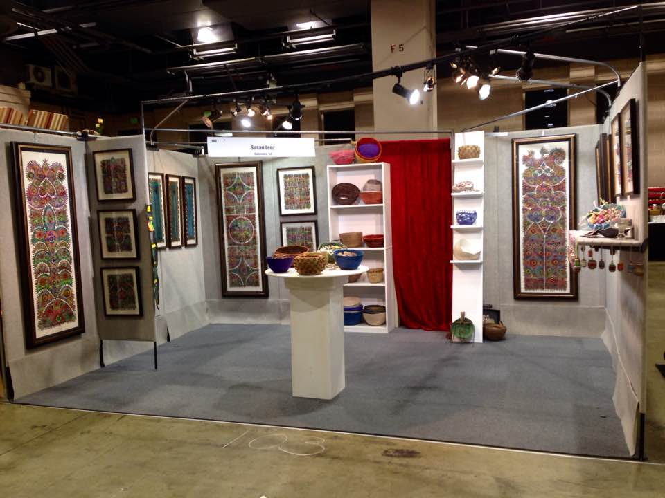 Art in stitches philadelphia museum of art craft show 2016 for Craft fair in philadelphia pa
