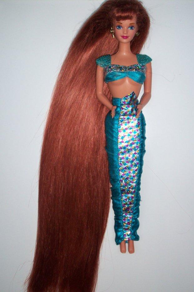 Jewell Hair: Barbiesouvenir1990: Barbie Jewel Hair Mermaid