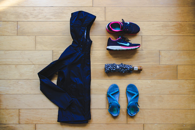 packing for Taiwan: comfortable shoes and rain gear are needed year-round