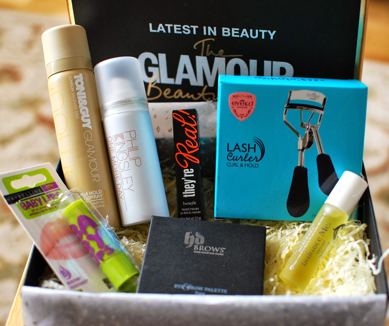Latest in Beauty - The Glamour Beauty Edit box - The Beautiful Truth