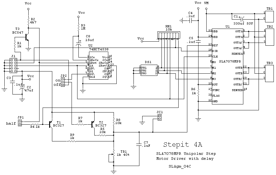 Cncrouterbuild Sla7078 Step Motor Driver
