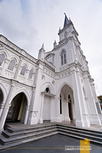 Singapore Layover CHIJMES