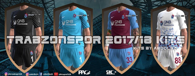 Trabzonspor 2017/18 Kit PES 2013