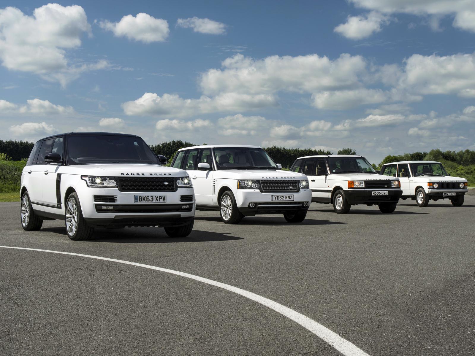 Range Rover Vogue Celebrates 45th Birthday With Ancestors