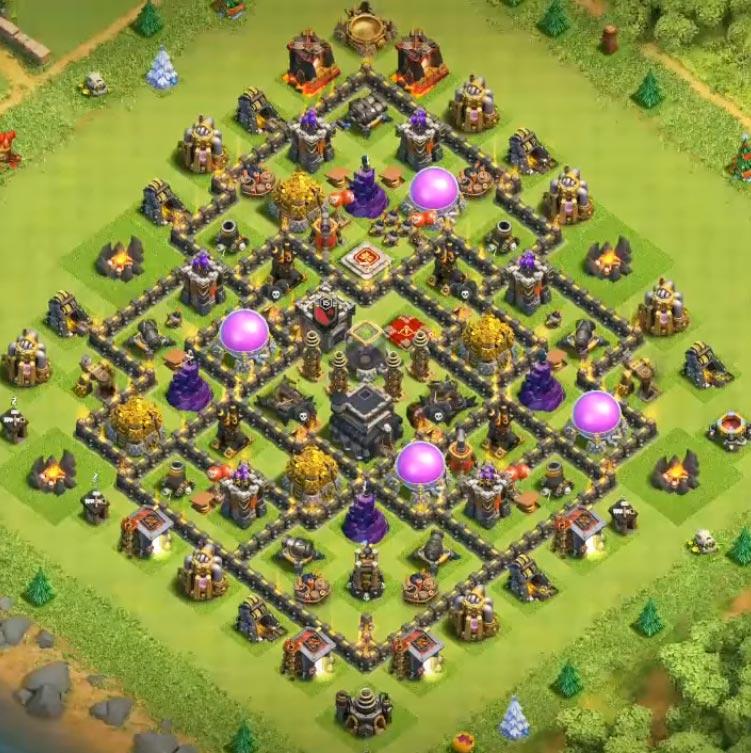 level 9 anti everything layout design