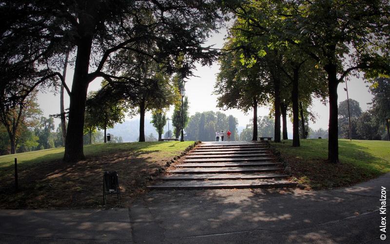 парк в Турине