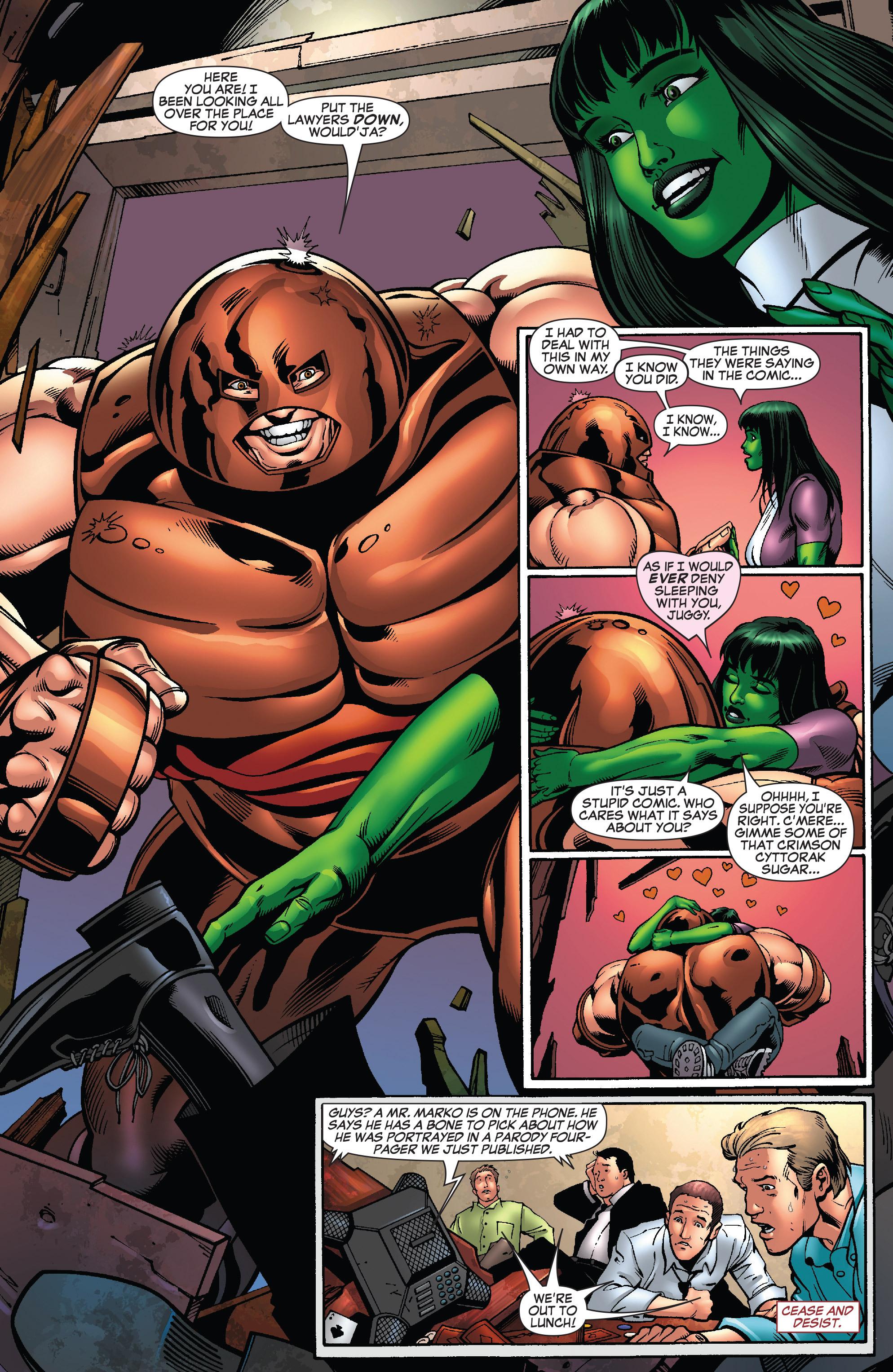 Read online She-Hulk (2005) comic -  Issue #25 - 34