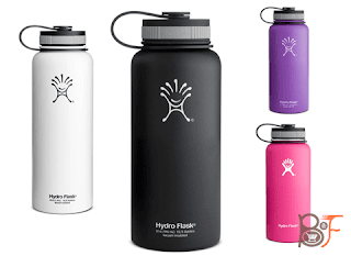 Strat Your Day With Hydro Flask Wide-Mouth Vacuum Bottle