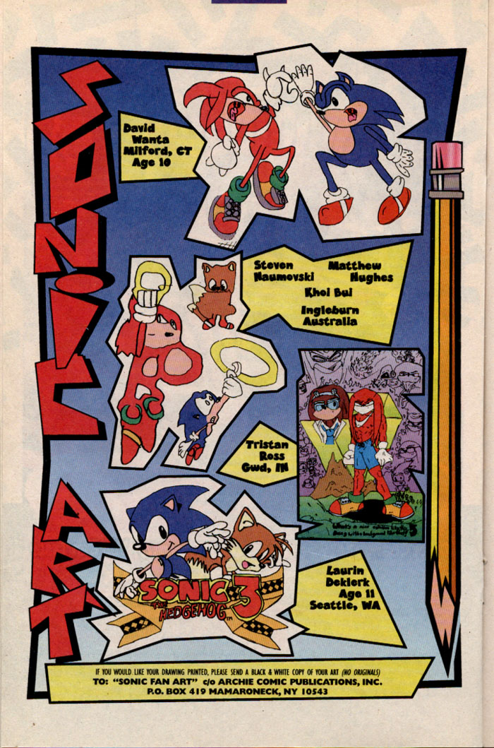 Read online Sonic The Hedgehog comic -  Issue #41 - 16