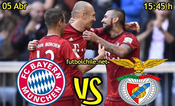 VER STREAM RESULTADO EN VIVO, ONLINE: Bayern Munich vs Benfica
