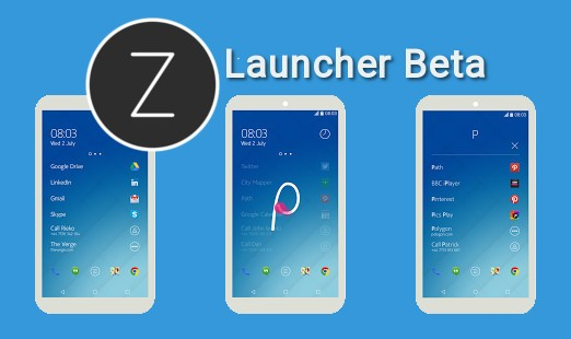 Nokia Z Laucher Beta
