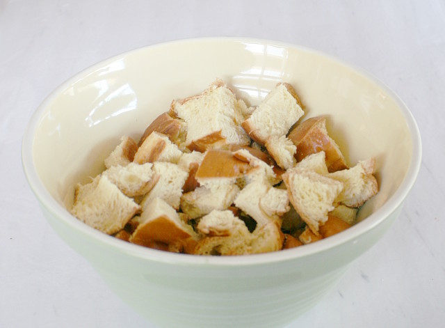 Delicious Egg Nog Bread Pudding with Buttered Rum Sauce recipe from my3monsters.com