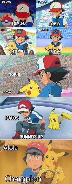 Ash Ketchum finalmente consegue o título de campeão Pokémon