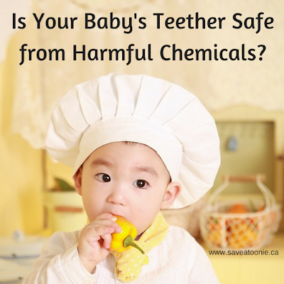 Harmful Chemicals Found in Baby Teethers