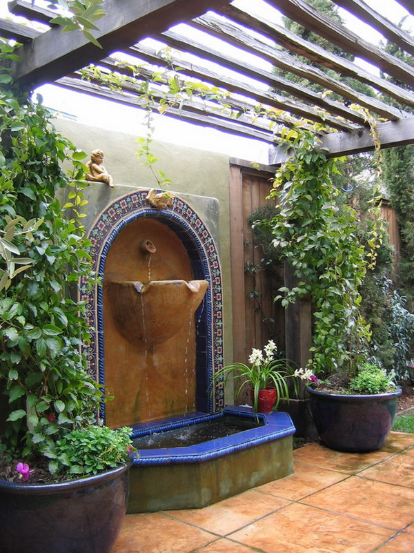 Garden Fountain Design.  most beautiful fountains designs for any type of garden I m sure you will find a few that be perfect so just take look below 88 Fountain Design Ideas your Garden Neat Homes