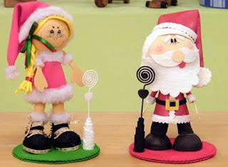 Como Fazer Enfeites e Moldes de Feltro para sua Festinha de Aniversário ou Natal.