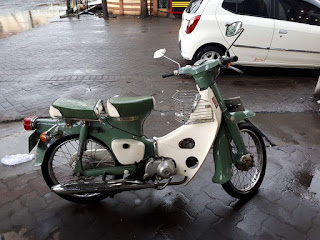 Lapak Motor Antik : Dijual Honda c50  Tahun 75