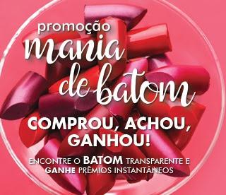 Promoção Abelha Rainha Cosméticos 2017 Mania de Batom Kits