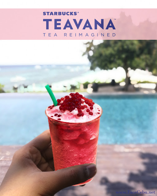 TEAVANA® FROZEN HIBISCUS TEA WITH POMEGRANATE PEARLS at Amorita Resort, Bohol