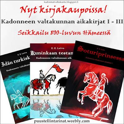 Kadonneen valtakunnan aikakirjat on viikinkiajan Hämeeseen sijoittuva seikkailu.