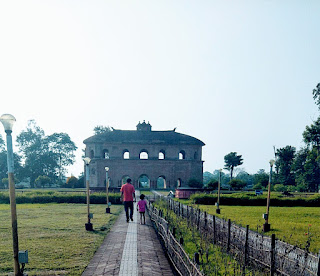 Front view of Rang Ghar