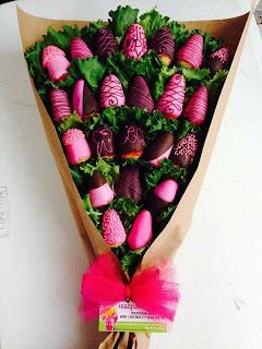 ramo-fresas-cubiertas-chocolate